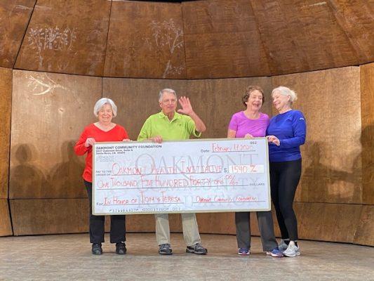 OHI Oakmont Health Initiative OCF Donation 2